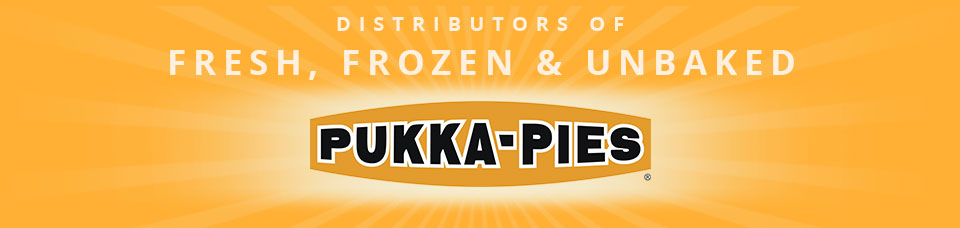 Distributors of Fresh, Frozen & Unbaked Pukka Pies